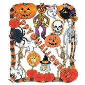 Flame Retardant Halloween Decorating Kit