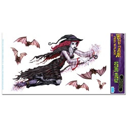 Gothic Witch Decal