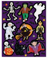 Monster Stickers (4 sheets/pkg)