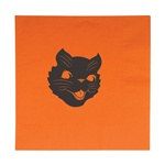 Halloween Cat Luncheon Napkins