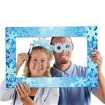 Snowflakes Photo Fun Frame