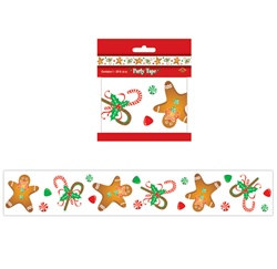 Gingerbread Man Party Tape
