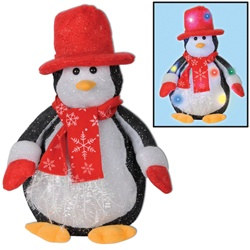 Light-Up Penguin Decoration