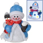 Light-Up Snowman Decoration (Large)
