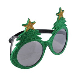 Glittered Christmas Tree Fanci-Frames