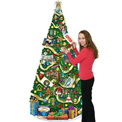 Christmas Tree Card Holder