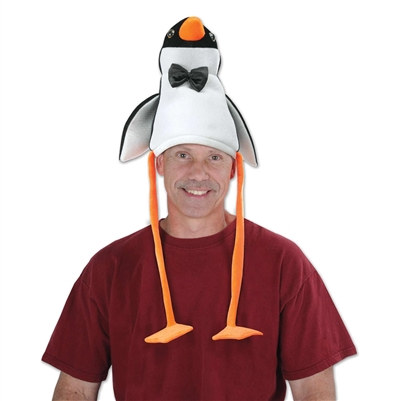 Plush Penguin Hat