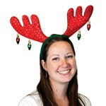 Christmas Antler Headband