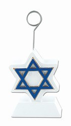 Star of David Photo/Balloon Holder