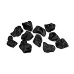 These Plastic Coal Nuggets are the perfect Christmas gift for that naughty person on your shopping list. Each 1.06 ounce package contains approximately ten of these plastic coal nuggets. Nuggets measure 1 inch.