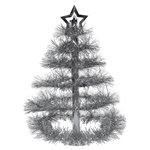 Silver Christmas Tree Centerpiece