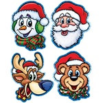 Christmas Companion Cutouts (4/pkg)