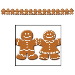 Gingerbread Man Streamer