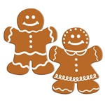 Gingerbread Cutouts (2/pkg)