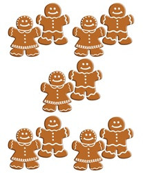 Mini Gingerbread Cutouts (10/pkg)