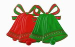 Foil Christmas Bell Silhouette (2 designs, each sold separately)