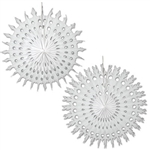 White Art-Tissue Snowflake, 28 inches