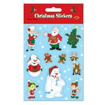 Christmas Stickers (4 Sheets Per Package)