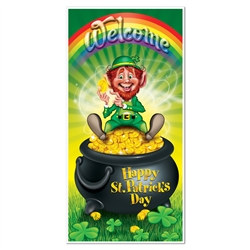 Leprechaun Door Cover