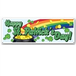 Happy St Patrick's Day Sign Banner