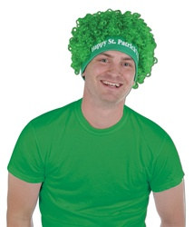 Happy St Patrick's Day Wig