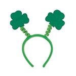 Soft-Touch Shamrock Headband Boppers