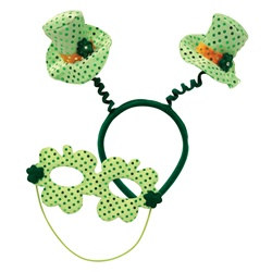 Leprechaun Hat Boppers with Mask