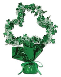 Shamrock Gleam N Shape Centerpiece