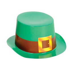 Mini Green Top Hat with Buckle Band