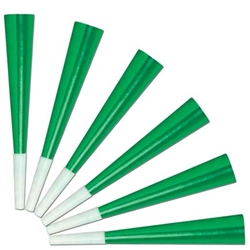 Green Foil Horn (sold 100 per box)