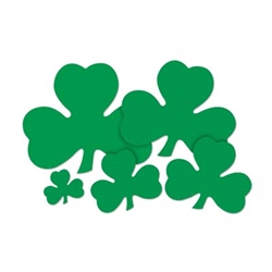 Green Shamrock Cutout (Select Size)