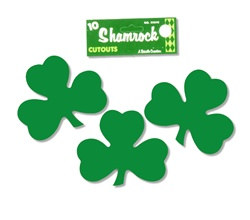 Shamrocks 5 inches (10/pkg)