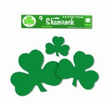 Printed Shamrocks (9/pkg)