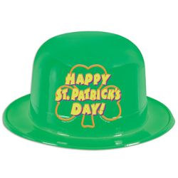 Happy St. Patrick's Day Printed Derby