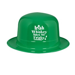 Irish Whiskey Makes Me Frisky Derby Hat