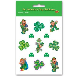 Leprechaun Stickers