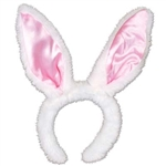 Plush Satin Bunny Ears