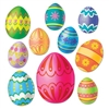 Easter Egg Cutouts (10/pkg)