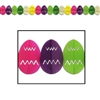 Easter Egg Tissue Garland