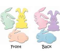 Bunny Silhouettes (3/pkg)