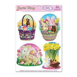 Easter Candy Clings (4/sheet)