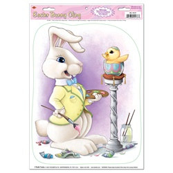 Easter Bunny Window Cling
