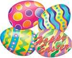 Giant Easter Egg Cutouts