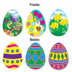 Easter Egg Cutouts (3/Pkg)