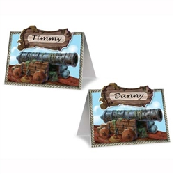 Pirate Cannon Place Cards
