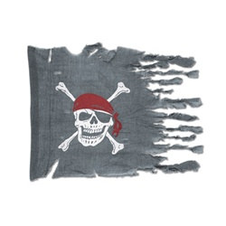 Weathered Pirate Flag