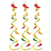 Chili Pepper Whirls (3/pkg)