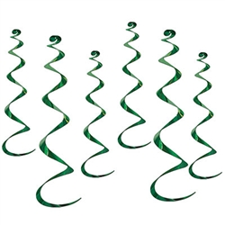 Twirly Whirly - Green (6/pkg)
