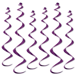 Twirly Whirly - Purple (6/pkg)