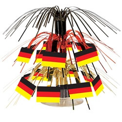 Mini German Flag Cascade Centerpiece